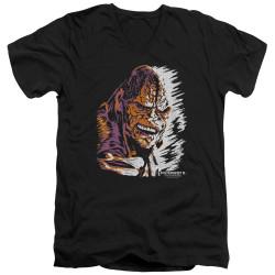 Image for Poltergeist II V Neck T-Shirt - Kane Worm