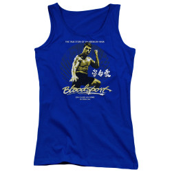 Image for Bloodsport Girls Tank Top - American Ninja