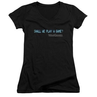 Image for Wargames Girls V Neck - Shall We