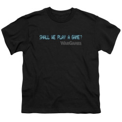 Image for Wargames Youth T-Shirt - Shall We