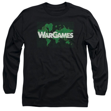 Image for Wargames Long Sleeve Shirt - Game Board
