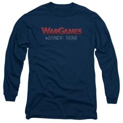 Image for Wargames Long Sleeve Shirt - No Winners