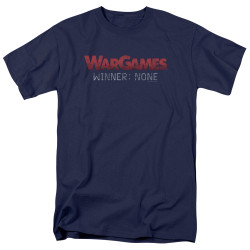Image for Wargames T-Shirt - No Winners