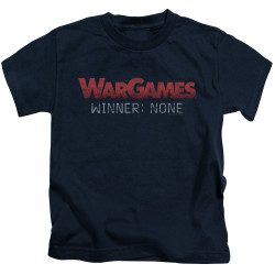 Image for Wargames Kids T-Shirt - No Winners