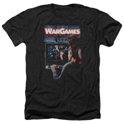 Image for Wargames Heather T-Shirt - Poster