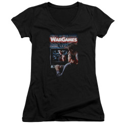 Image for Wargames Girls V Neck - Poster