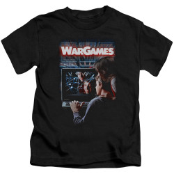 Image for Wargames Kids T-Shirt - Poster