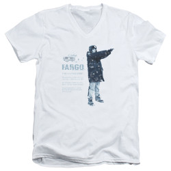 Image for Fargo V Neck T-Shirt - This Is A True Story