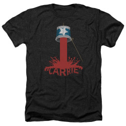 Image for Carrie Heather T-Shirt - Bucket Of Blood