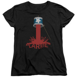 Image for Carrie Womans T-Shirt - Bucket Of Blood