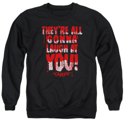 Image for Carrie Crewneck - Laugh At You