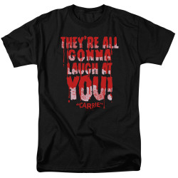 Image for Carrie T-Shirt - Laugh At You