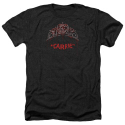 Image for Carrie Heather T-Shirt - Prom Queen