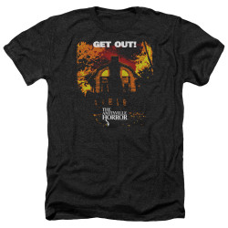 Image for Amityville Horror Heather T-Shirt - Get Out