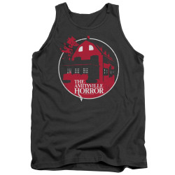 Image for Amityville Horror Tank Top - Red House