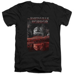 Image for Amityville Horror V Neck T-Shirt - Cold Blood