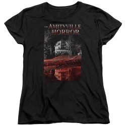 Image for Amityville Horror Womans T-Shirt - Cold Blood