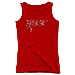 Image for Amityville Horror Girls Tank Top - Flies
