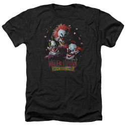 Image for Killer Klowns From Outer Space Heather T-Shirt - Killer Klowns