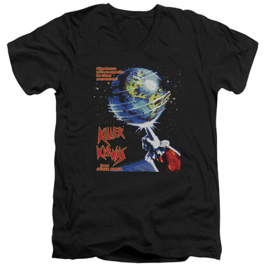 Image for Killer Klowns From Outer Space V Neck T-Shirt - Invaders