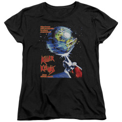 Image for Killer Klowns From Outer Space Womans T-Shirt - Invaders