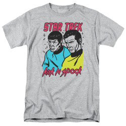 Image for Star Trek T-Shirt - Kirk N Spock