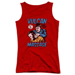 Image for Star Trek Girls Tank Top - Massage
