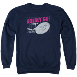 Image for Star Trek Crewneck - Boldly Go