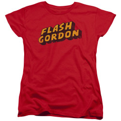 Image for Flash Gordon Womans T-Shirt - Logo