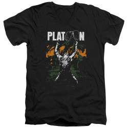 Image for Platoon V Neck T-Shirt - Graphic