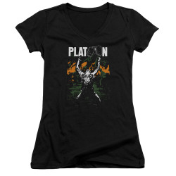 Image for Platoon Girls V Neck - Graphic