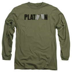 Image for Platoon Long Sleeve Shirt - Logo
