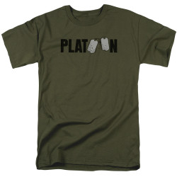 Image for Platoon T-Shirt - Logo