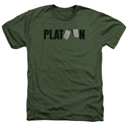 Image for Platoon Heather T-Shirt - Logo
