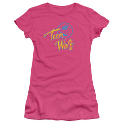Image for Teen Wolf Girls T-Shirt - Cmy Logo