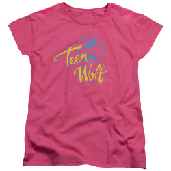 Image for Teen Wolf Womans T-Shirt - Cmy Logo