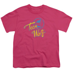 Image for Teen Wolf Youth T-Shirt - Cmy Logo