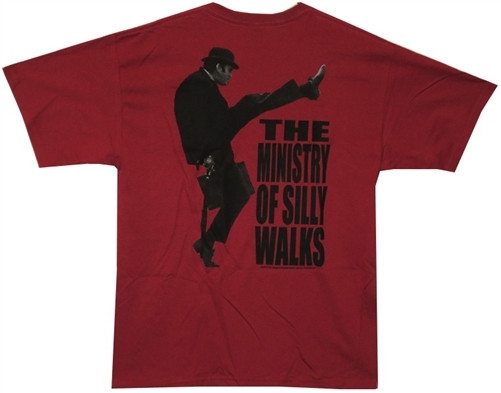 59315cca Monty Python T-Shirt - the Ministry of Silly Walks 11064. Loading zoom.  Hover over image to zoom