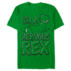 Image for Toy Story I'm a Nervous Rex T-Shirt