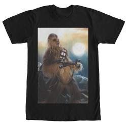 Image for Star Wars Episode 7 Chewie Crossbow T-Shirt