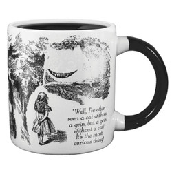 Image for Alice In Wonderland Cheshire Cat Transforming Coffee Mug
