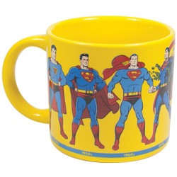 Image for Superman Through the Years Coffee Mug