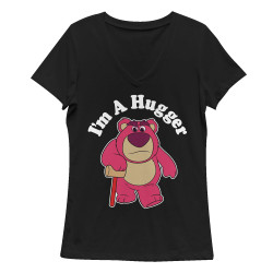 Image for Toy Story Girls V Neck - I'm a Hugger
