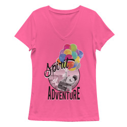 Image for Up Girls V Neck - Spirit of Adventure