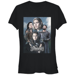 Image for The Shannara Chronicles Juniors T-Shirt - Group