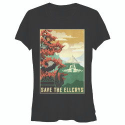 Image for The Shannara Chronicles Juniors T-Shirt - Ellcrys Save