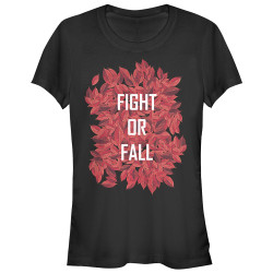 Image for The Shannara Chronicles Juniors T-Shirt - Fall Leaves