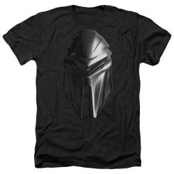 Image for Battlestar Galactica Heather T-Shirt - Cylon Head