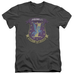 Image for Battlestar Galactica V Neck T-Shirt - Primas Badge