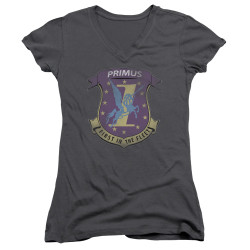Image for Battlestar Galactica Juniors V Neck - Primas Badge